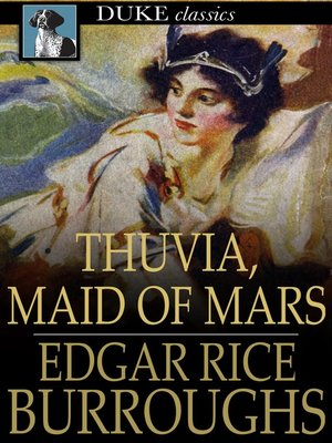 Click this cover for a(n) eBook sample of Thuvia, Maid of Mars.