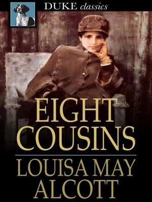 Click this cover for a(n) eBook sample of Eight Cousins.