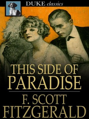 Click this cover for a(n) eBook sample of This Side of Paradise.