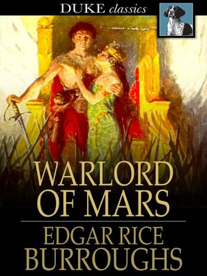 Click this cover for a(n) eBook sample of Warlord of Mars.
