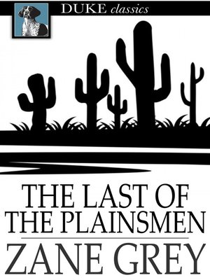 Click this cover for a(n) eBook sample of The Last of the Plainsmen.
