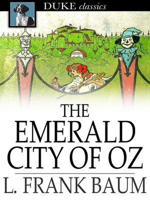 Click this cover for a(n) eBook sample of The Emerald City of Oz.