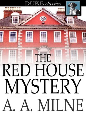 Click this cover for a(n) eBook sample of The Red House Mystery