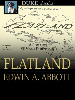 Click this cover for a(n) eBook sample of Flatland