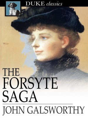 Click this cover for a(n) eBook sample of The Forsyte Saga