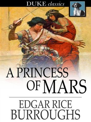 Click this cover for a(n) eBook sample of A Princess of Mars