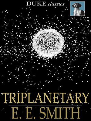 Click this cover for a(n) eBook sample of Triplanetary.