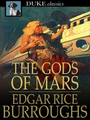 Click this cover for a(n) eBook sample of The Gods of Mars