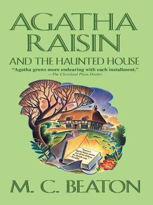 Click this cover for a(n) eBook sample of Agatha Raisin and the Haunted House.