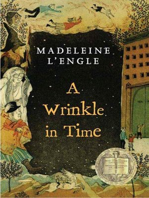 Click this cover for a(n) eBook sample of A Wrinkle in Time.