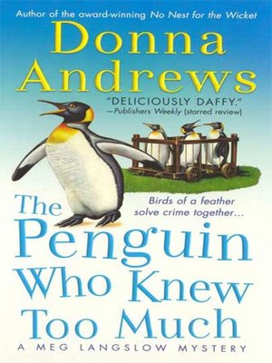 Click this cover for a(n) eBook sample of The Penguin Who Knew Too Much