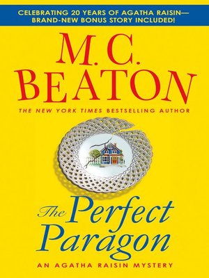 Cover of Agatha Raisin and the Perfect Paragon
