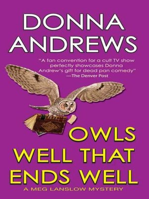 Click this cover for a(n) eBook sample of Owls Well That Ends Well.
