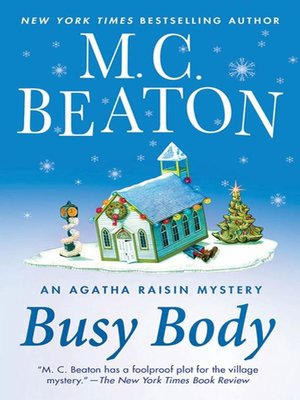 Click this cover for a(n) eBook sample of Busy Body.