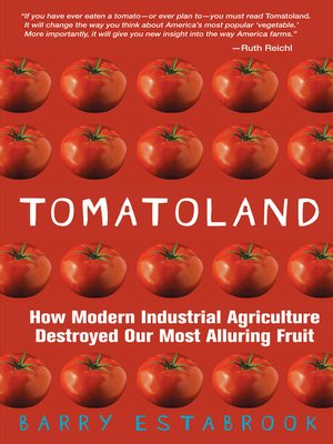 Click this cover for a(n) eBook sample of Tomatoland.