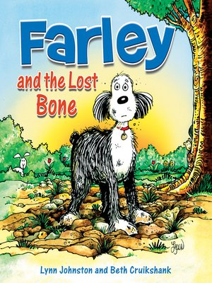 Click this cover for a(n) eBook sample of Farley and the Lost Bone