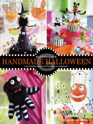 Click this cover for a(n) eBook sample of Glitterville's Handmade Halloween.