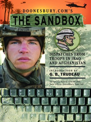 Click this cover for a(n) eBook sample of Doonesbury.com's The Sandbox.