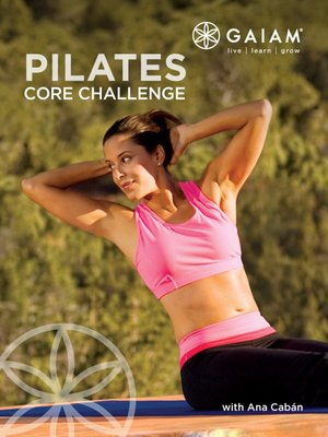 Click this cover for a(n) Video sample of Core Pilates.