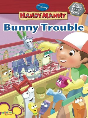 Click this cover for a(n) Online eBook sample of Bunny Trouble.