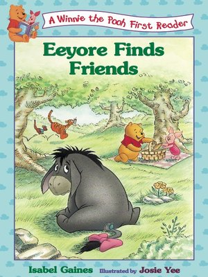 Click this cover for a(n) Online eBook sample of Eeyore Finds Friends, Volume 11