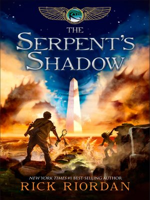 Click this cover for a(n) eBook sample of The Serpent's Shadow