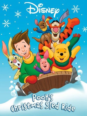 Click this cover for a(n) Online eBook sample of Pooh's Christmas Sled