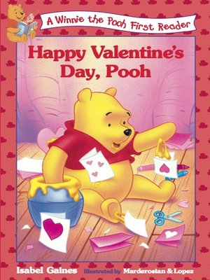 Click this cover for a(n) Online eBook sample of Happy Valentine's Day, Pooh.