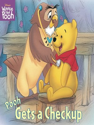 Click this cover for a(n) Online eBook sample of Pooh Gets a Checkup.