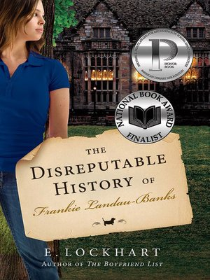 Click this cover for a(n) eBook sample of The Disreputable History of Frankie Landau-Banks.
