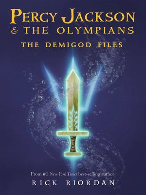 Click this cover for a(n) eBook sample of The Demigod Files