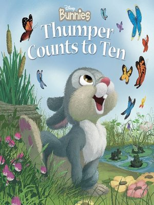 Click this cover for a(n) Online eBook sample of Thumper Counts to Ten.