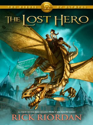 Click this cover for a(n) eBook sample of The Lost Hero.