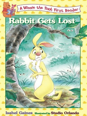 Click this cover for a(n) Online eBook sample of Rabbit Gets Lost, Volume 4.