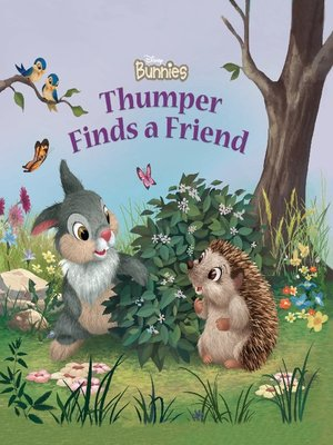 Click this cover for a(n) Online eBook sample of Thumper Finds a Friend.