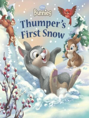 Click this cover for a(n) Online eBook sample of Thumper's First Snow.