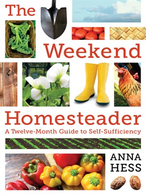 Click this cover for a(n) eBook sample of The Weekend Homesteader.
