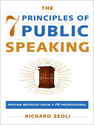 Click this cover for a(n) eBook sample of The 7 Principles Of Public Speaking.