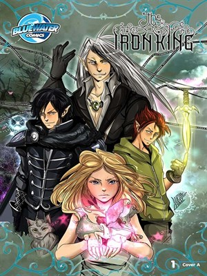 Click this cover for a(n) eBook sample of The Iron King, Issue 1.