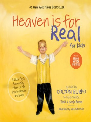 Click this cover for a(n) eBook sample of Heaven is for Real for Kids