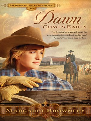 Click this cover for a(n) eBook sample of Dawn Comes Early.