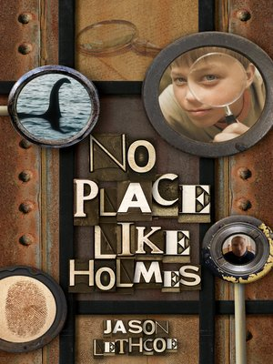 Click this cover for a(n) eBook sample of No Place Like Holmes