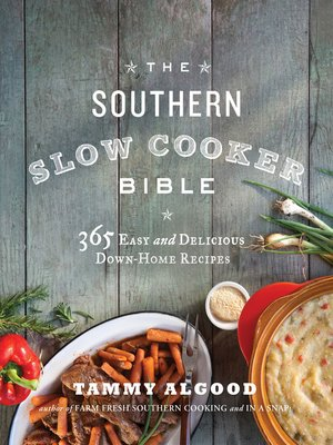 Click this cover for a(n) eBook sample of The Southern Slow Cooker Bible.