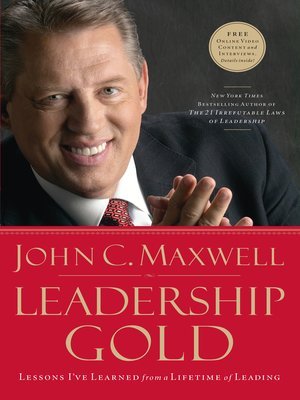 Click this cover for a(n) eBook sample of Leadership Gold.