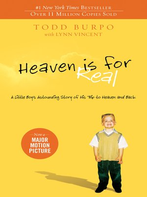 Click this cover for a(n) eBook sample of Heaven is for Real.