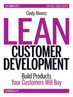 Click here to view eBook details for Lean Customer Development by Cindy Alvarez