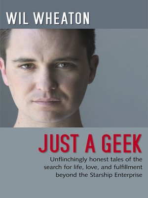 Click this cover for a(n) eBook sample of Just a Geek.