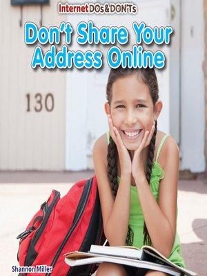 Don't Share Your Address Online
