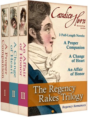 Click this cover for a(n) eBook sample of The Regency Rakes Trilogy.