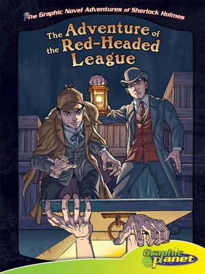 Click this cover for a(n) eBook sample of Adventure of the Red-Headed League